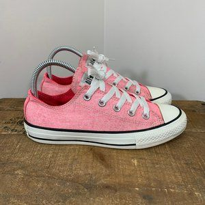 Converse Neon Pink Chuck Taylor All Star Low Tops
